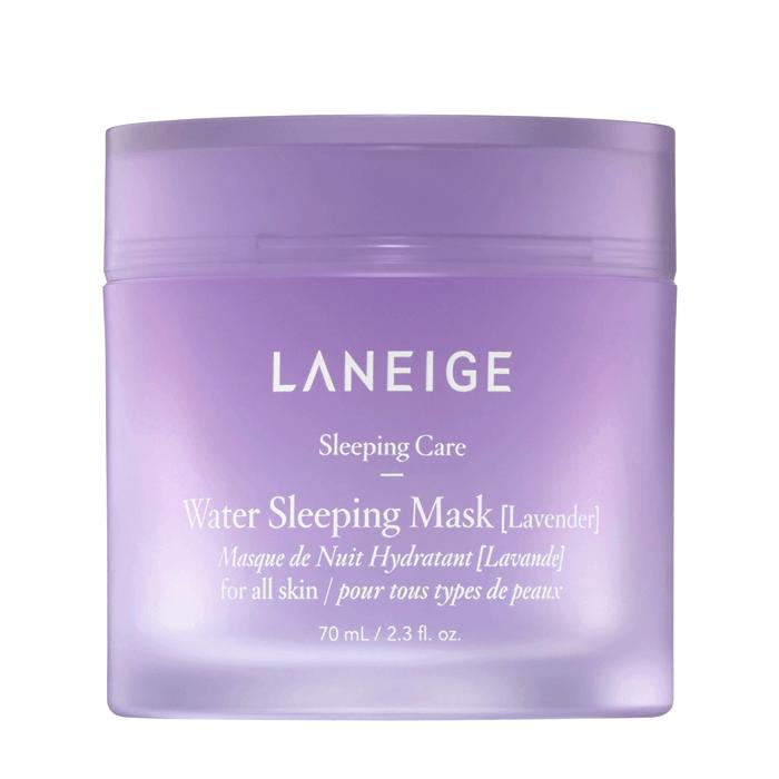Купить Ночная маска Laneige Water Sleeping Mask Lavender, Ночная маска с минеральной водой и экстрактом лаванды для лица, Южная Корея