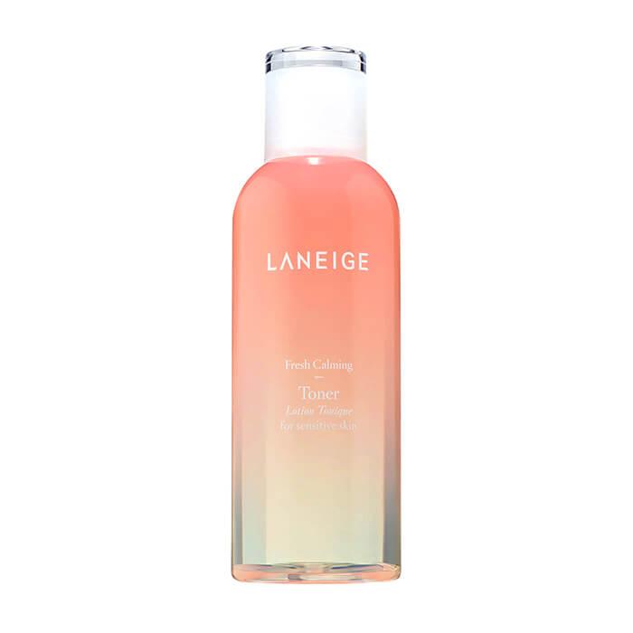 Тонер для лица Laneige Fresh Calming Toner Успокаивающий тонер для жирной обезвоженной кожи лица на основе морской воды фото