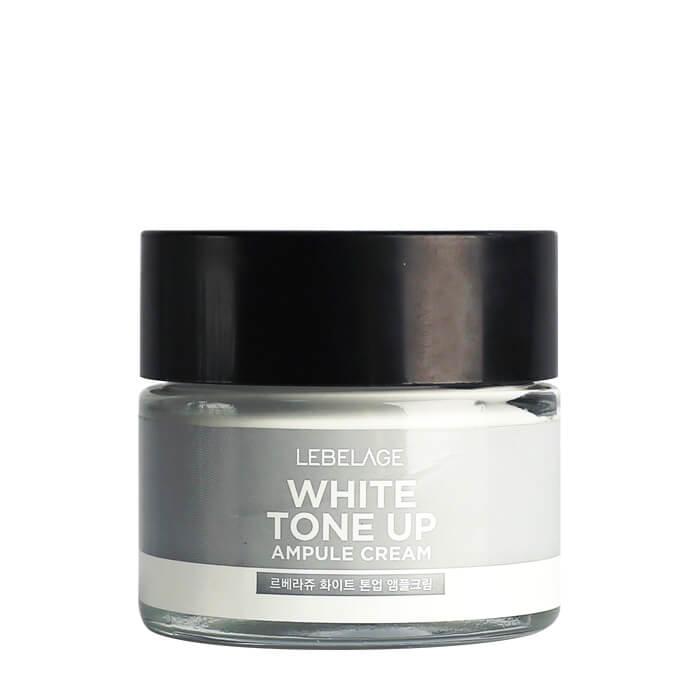 Купить Крем для лица Lebelage Ampule Cream White Toneup, Ампульный крем для упругости лица с молочными протеинами, Южная Корея