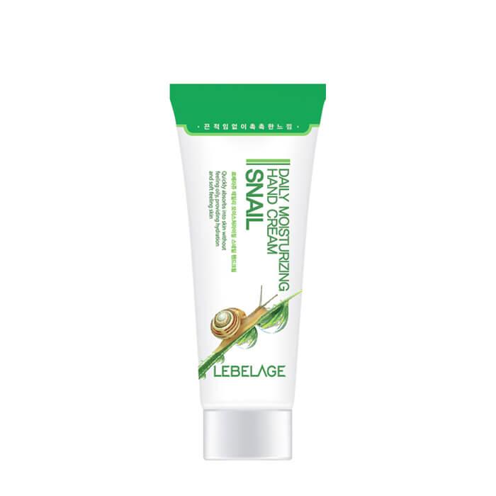 Купить Крем для рук Lebelage Daily Moisturizing Snail Hand Cream, Ежедневный крем для смягчения и разглаживания кожи рук с муцином улитки, Южная Корея