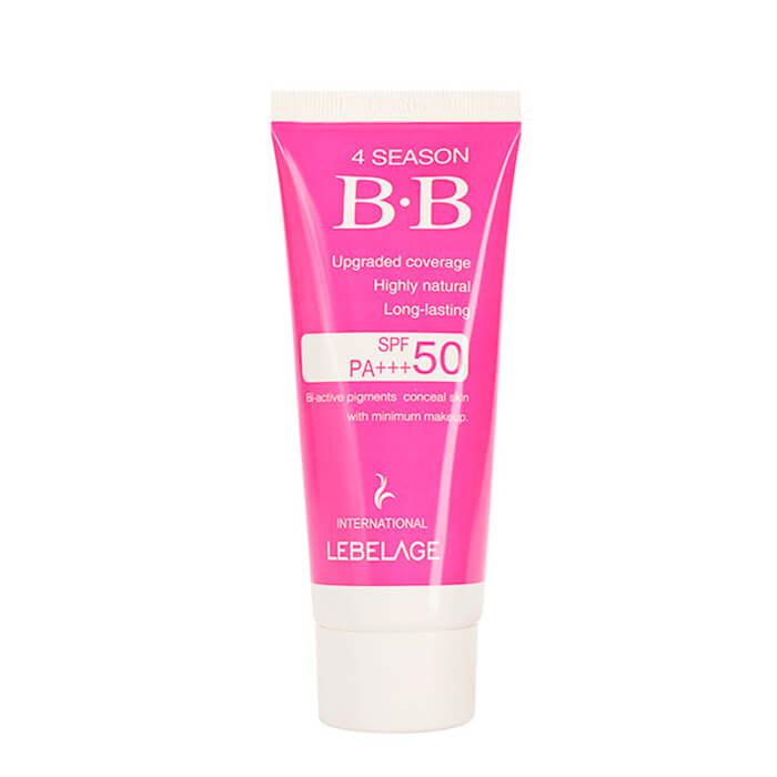 Купить ВВ крем Lebelage 4 Season BB Cream, Легкий солнцезащитный ВВ крем для эффективной маскировки несовершенств, Южная Корея