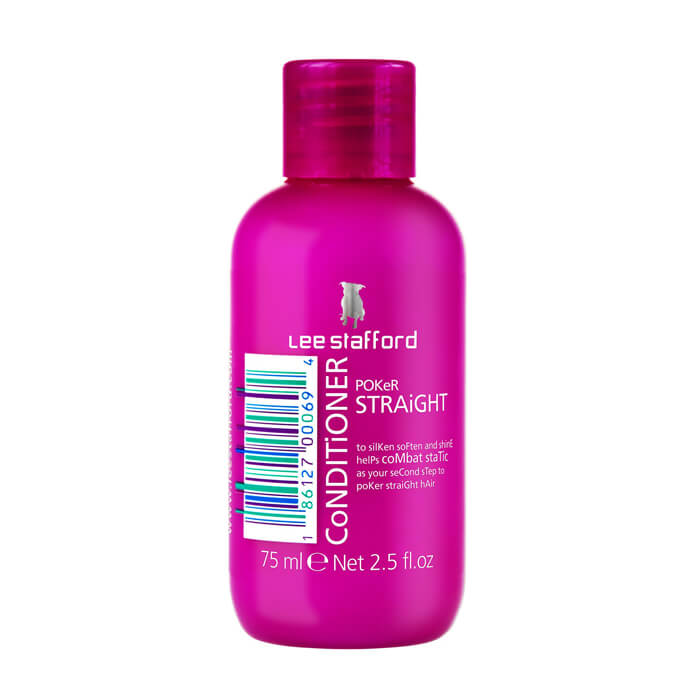 Купить Кондиционер для волос Lee Stafford Poker Straight Conditioner Mini, Увлажняющий кондиционер для выпрямления волос, Великобритания