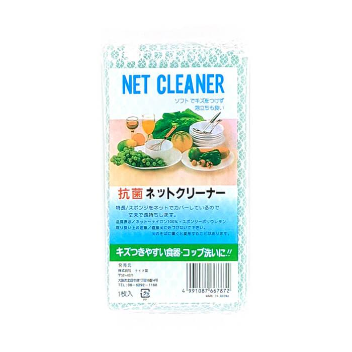 Купить Губка для мытья посуды Life-Do Net Cleaner, Цвет #4 Blue   Голубой, Губка для мытья посуды в нейлоновой сеточке для обильного пенообразования, Япония