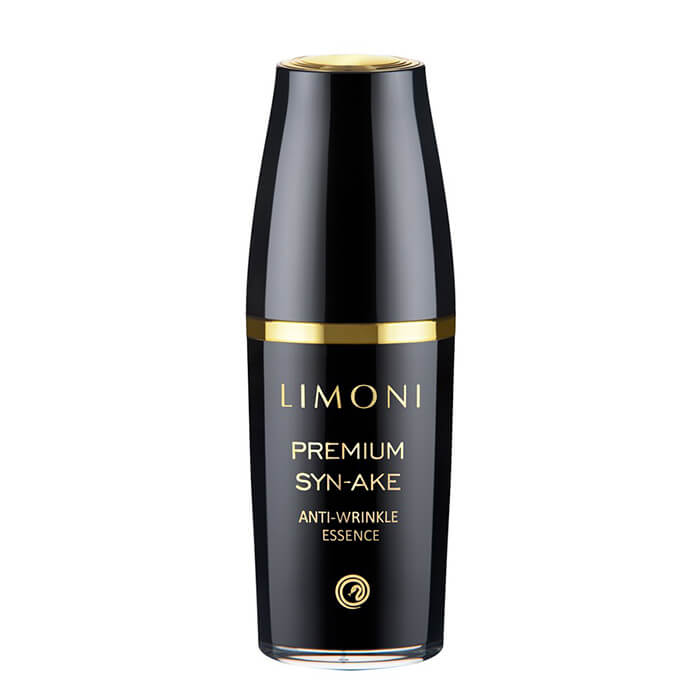 Купить Эссенция для лица Limoni Premium Syn-Ake Anti-Wrinkle Essense, Антивозрастная эссенция для лица с пептидом змеиного яда, Южная Корея