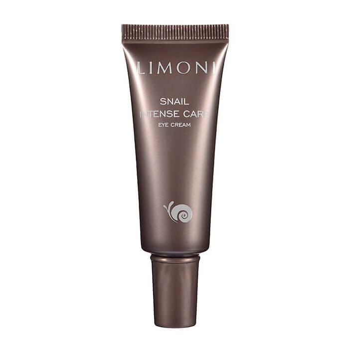 Купить Крем для век Limoni Snail Intense Care Eye Cream, Интенсивный крем для век с экстрактом секреции улитки, Южная Корея