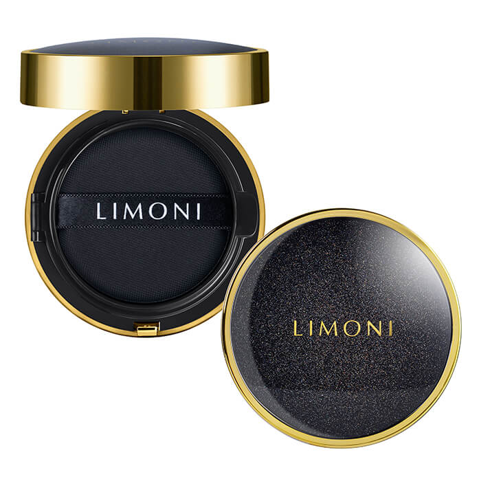 Купить Кушон для лица Limoni All Stay Cover Cushion - Galaxy, Солнцезащитный тональный флюид-кушон для лица с аминокислотами, Южная Корея