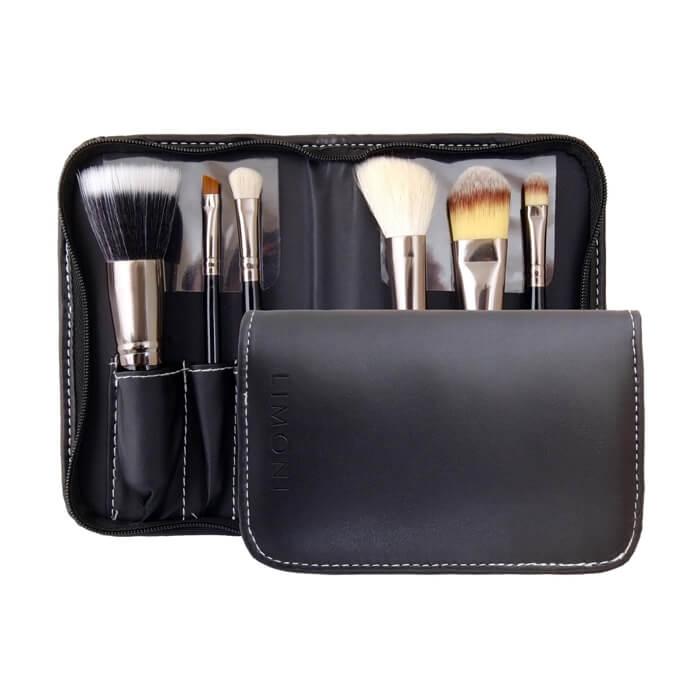 Купить Набор кистей Limoni Pro Style Compact, Набор профессионалных кистей для макияжа, Южная Корея
