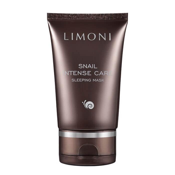 Купить Ночная маска Limoni Snail Intense Care Sleeping Mask, Интенсивная ночная маска для лица с экстрактом секреции улитки, Южная Корея