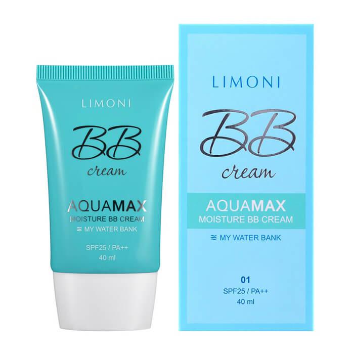 ВВ крем Limoni Aquamax Moisture BB Cream, Цвет Тон №2 Увлажняющий ББ крем для маскировки несовершенств кожи лица, Цвет Тон №2