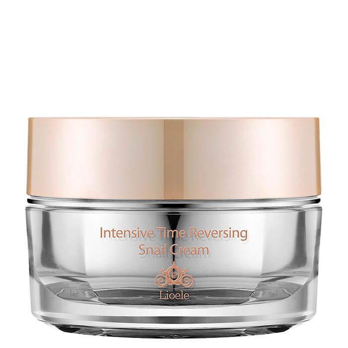 Купить Крем для лица Lioele Intensive Time Reversing Snail Cream, Антивозрастной крем для лица на основе экстракта улитки, Южная Корея