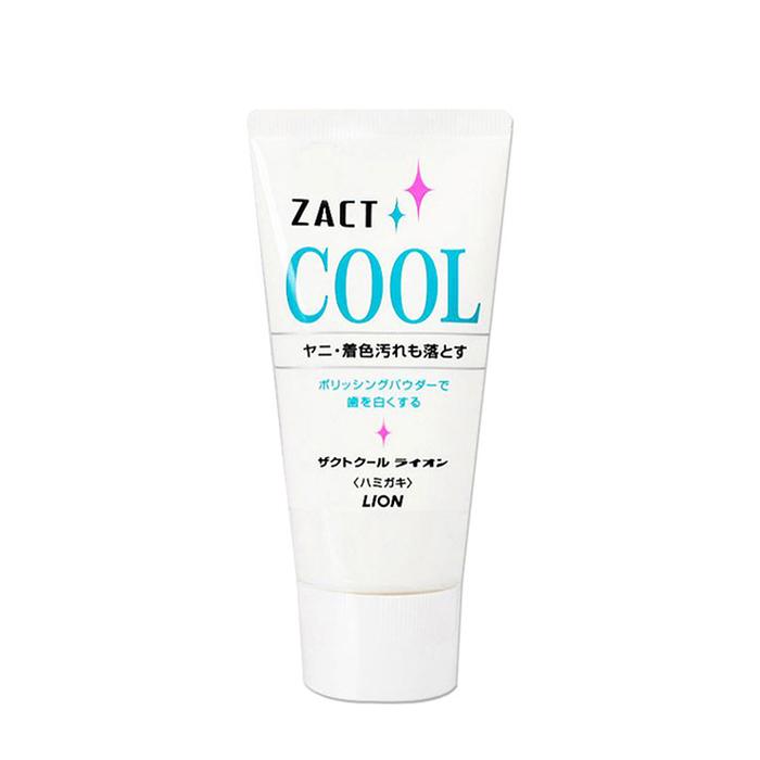 Купить Зубная паста Lion Zact Cool, Зубная паста с освежающим и отбеливающим эффектом для курящих и любителей кофе, Япония