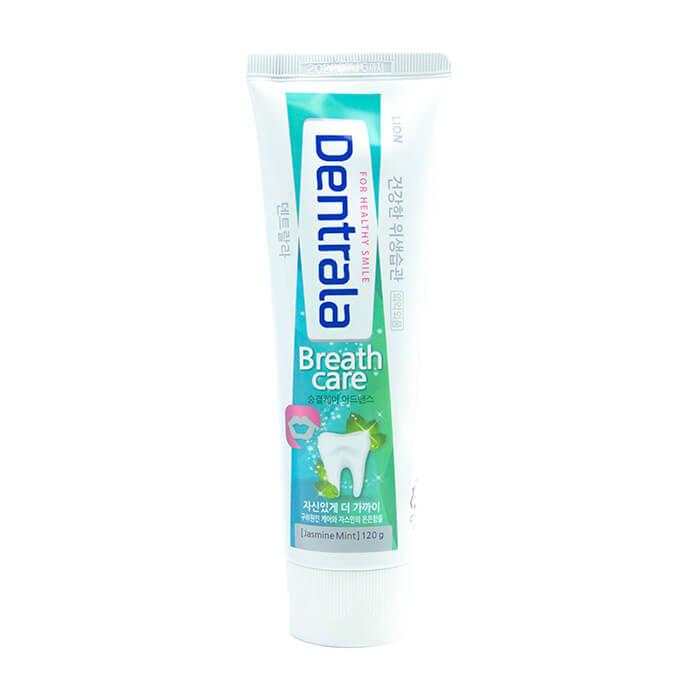 Купить Зубная паста Dentrala Breath Care, Зубная паста с ультракомплексом для свежего дыхания и укрепления зубной эмали, Lion, Япония