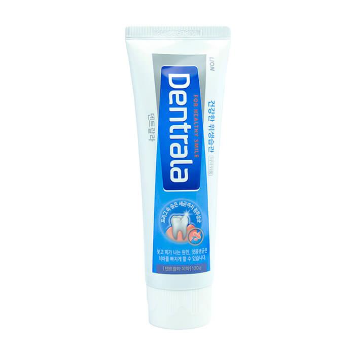 Зубная паста Dentrala Ice Mint Alpha Зубная паста с ароматом мяты для удаления налёта и болезнетворных бактерий фото
