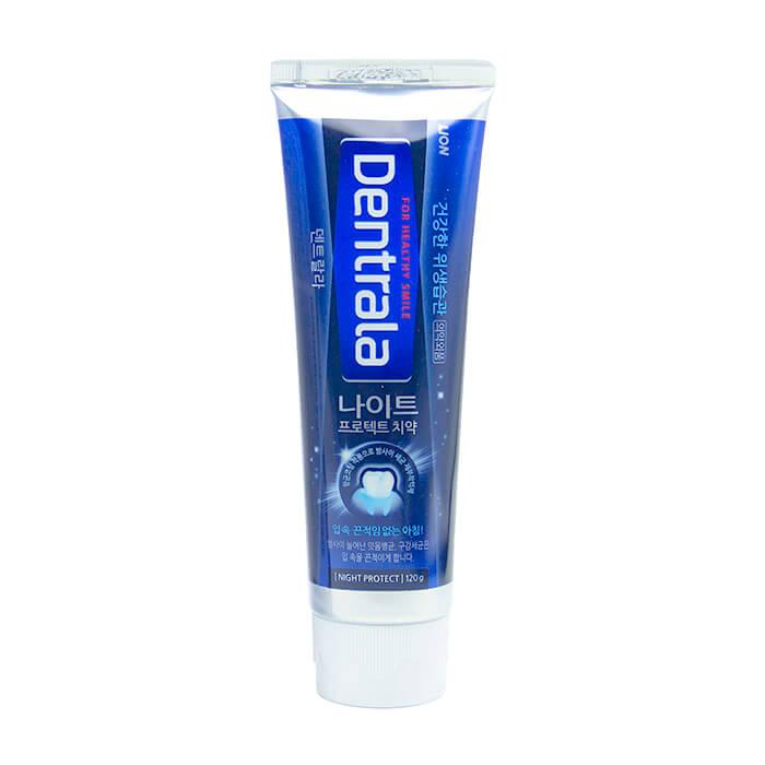 Купить Зубная паста Dentrala Night Protect, Зубная паста для комплексного ухода за полостью рта в ночное время, Lion, Япония