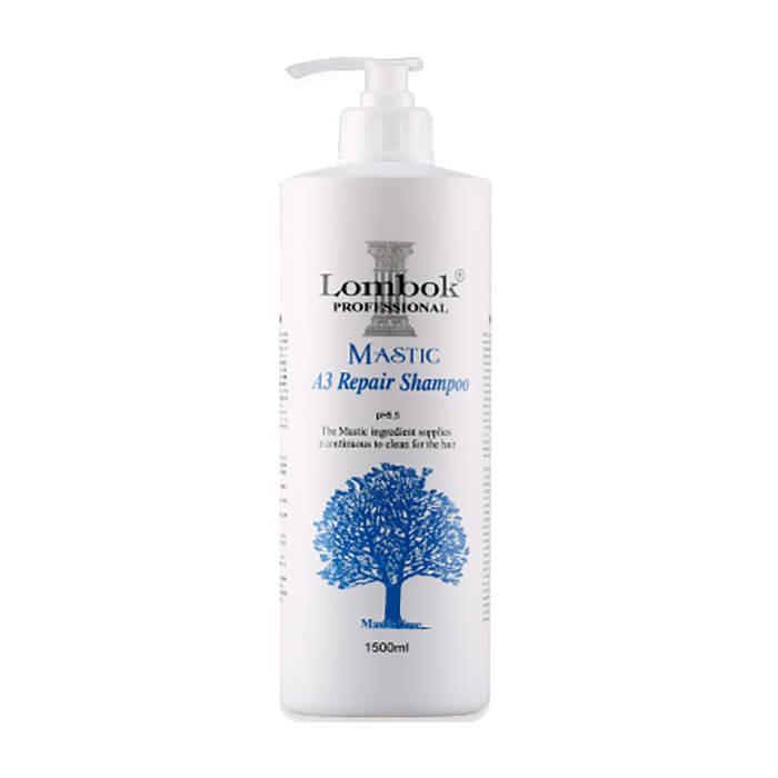 Шампунь для волос Lombok Mastic A3 Repair Shampoo.