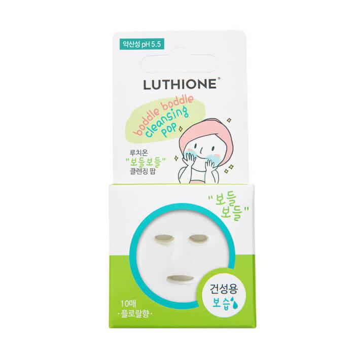 Сухая пенка для лица Luthione Boddle Boddle Cleansing Pop (for Dry Skin) 10 шт Сухая пенка для умывания сухой кожи лица
