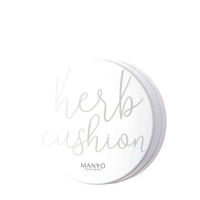 Купить Кушон для лица Manyo Factory Herbal Fresh Moist Cushion, Увлажняющая крем-пудра для лица с натуральными экстрактами трав и растений, Южная Корея