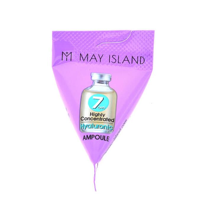 Купить Сыворотка для лица May Island 7 Days Hyaluronic Ampoule (1 шт.), Сыворотка для кожи лица с гиалуроновой кислотой в индивидуальной упаковке, Южная Корея