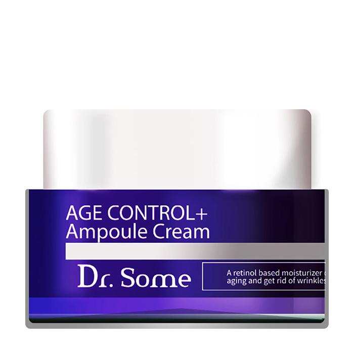 Купить Крем для лица Med:B Dr.Some Age Control+ Ampoule Cream, Антивозрастной ампульный крем для восстановления и разглаживания кожи лица, Южная Корея