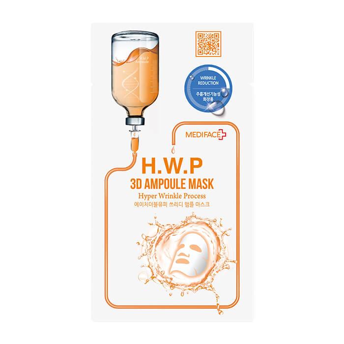 Купить Тканевая маска Mediface H.W.P 3D Ampoule Mask, Тканевая маска с экстрактом гамамелиса для разглаживания морщин, Южная Корея