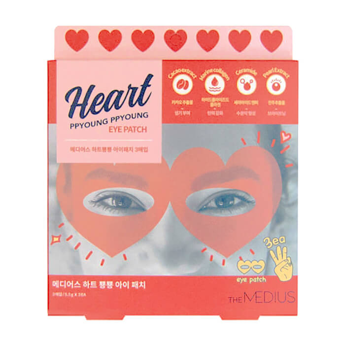 Патчи для глаз Medius Heart Ppyoung Ppyoung Eye Patch (10 шт.).