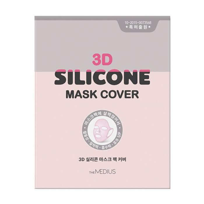 Силиконовая маска для лица Medius 3D Silicone Mask Cover Многоразовая маска для усиления эффекта тканевых и гидрогелевых масок фото