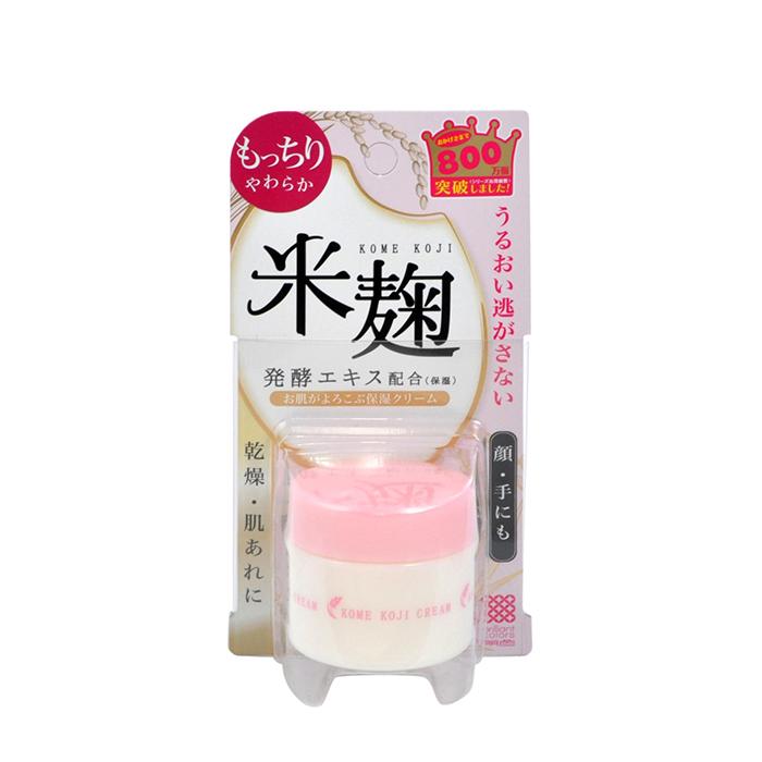 Купить Крем для лица Meishoku Kome Koji Cream, Увлажняющий крем для кожи лица с экстрактом ферментированного риса Кодзи, Япония