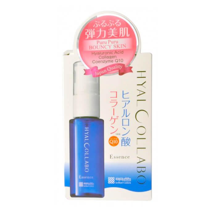 Купить Эссенция для лица Meishoku Hyalcollabo W Moist Beauty Essence, Увлажняющий крем для лица с наноколлагеном и наногиалуроновой кислотой, Япония