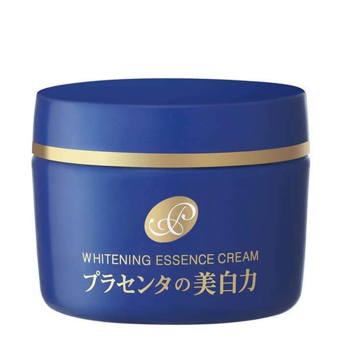 Купить Крем-эссенция для лица Meishoku Placenta Whitening Essence Cream, Осветляющий крем-эссенция для лица с экстрактом плаценты, Япония