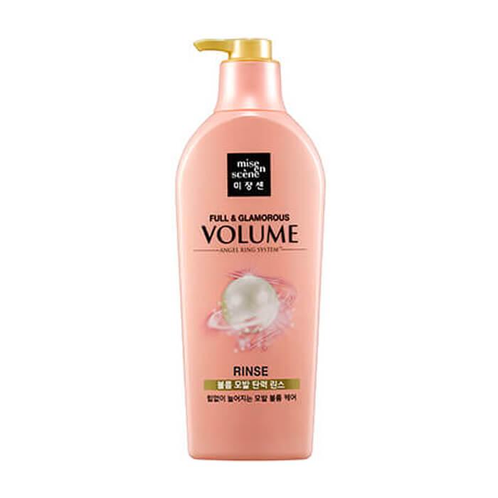 Купить Кондиционер для волос Mise-en-scène Full & Glamorous Volume Rinse, Кондиционер для придания объема волосам с экстрактом граната, Южная Корея