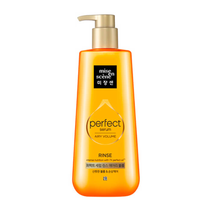 Купить Кондиционер для волос Mise-en-scène Perfect Serum Rinse Airy Volume, Кондиционер для придания воздушного объема волосам, Южная Корея