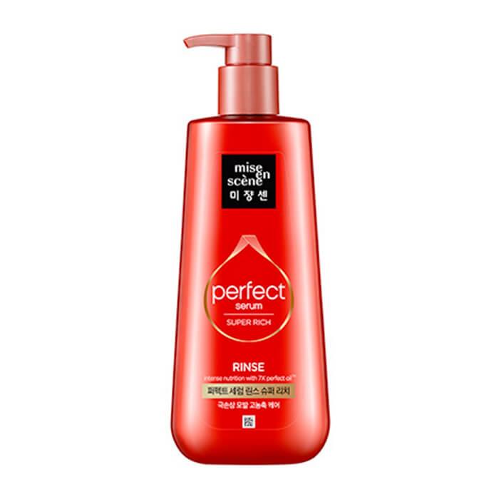 Кондиционер для волос Mise-en-scène Perfect Serum Rinse Super Rich Насыщенный кондиционер для интенсивного восстановления волос фото