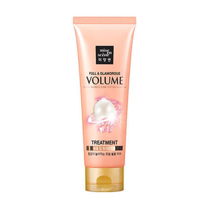 Купить Маска для волос Mise-en-scène Full & Glamorous Volume Treatment, Маска для объема волос с экстрактом граната, Южная Корея