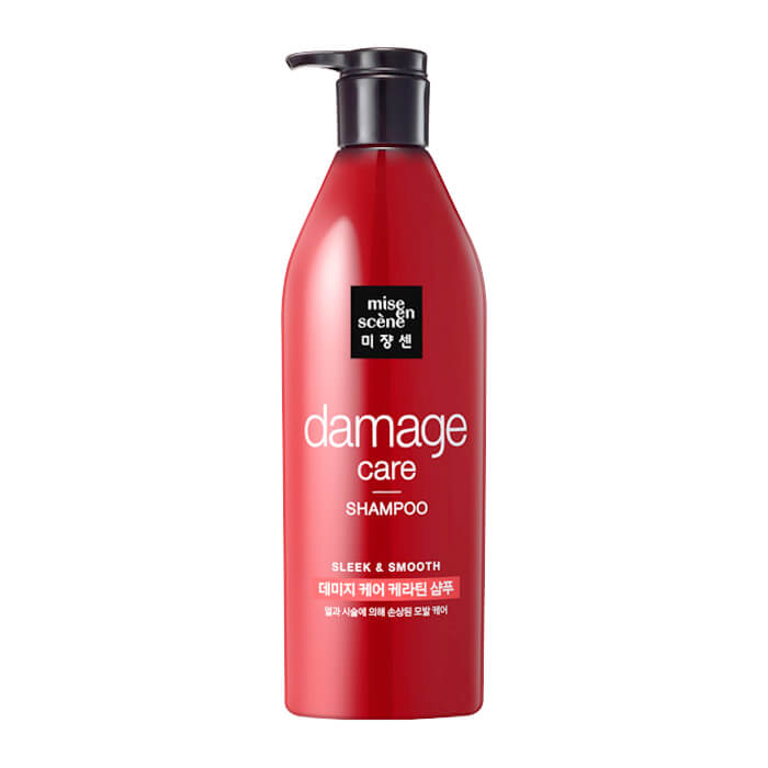 Купить Шампунь для волос Mise-en-scène Damage Care Shampoo, Восстанавливающий шампунь для повреждённых волос, Южная Корея