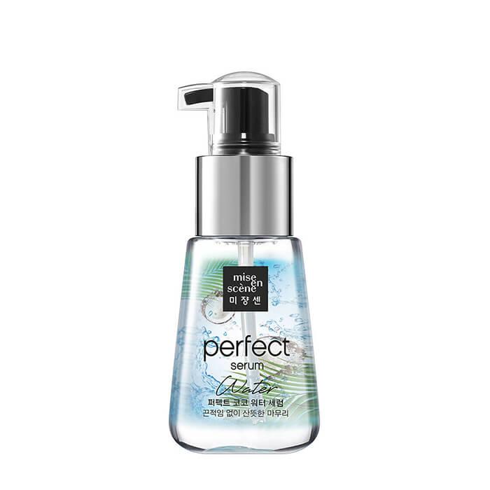 Сыворотка для волос Mise-en-scène Perfect Coco Water Serum Лёгкая масляная сыворотка для ухода за волосами с маслами кокоса и арганы фото