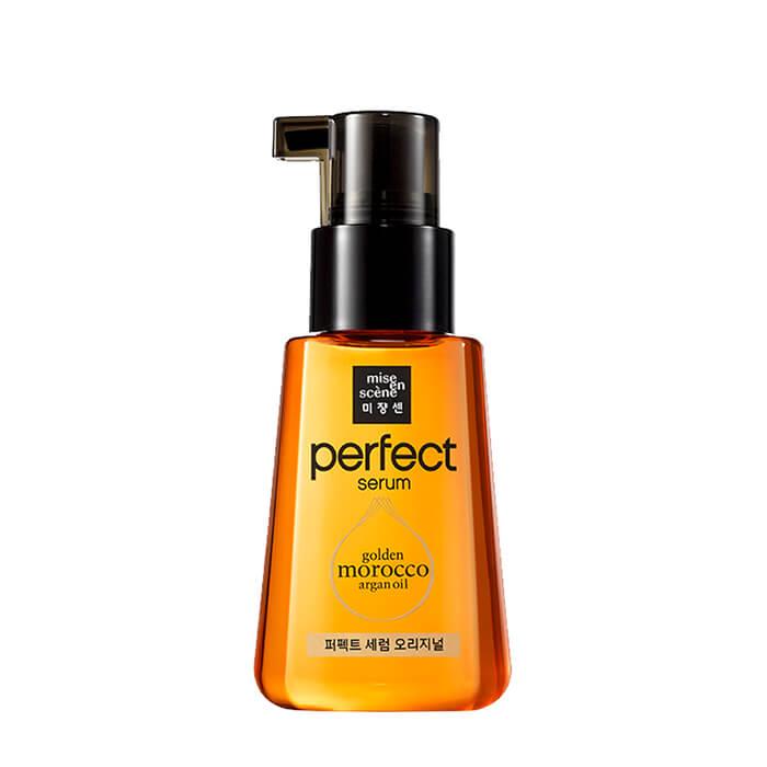 Купить Сыворотка для волос Mise-en-scène Perfect Serum Golden Morocco Argan Oil Original, Сыворотка-масло для восстановления волос с комплексом ценных питательных масел, Южная Корея