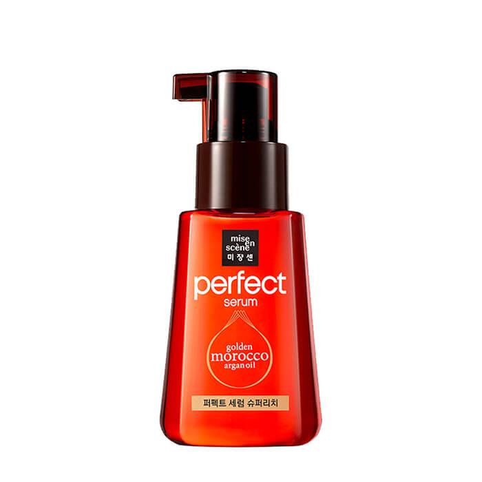 Купить Сыворотка для волос Mise-en-scène Perfect Serum Golden Morocco Argan Oil Super Rich, Сыворотка-масло для максимального увлажнения и питания волос с комплексом ценных масел, Южная Корея