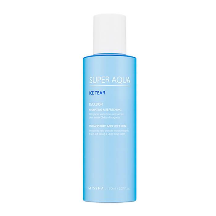 Купить Эмульсия для лица Missha Super Aqua Ice Tear Emulsion, Освежающая эмульсия с чистой водой из ледников Патагонийских Альп, Южная Корея
