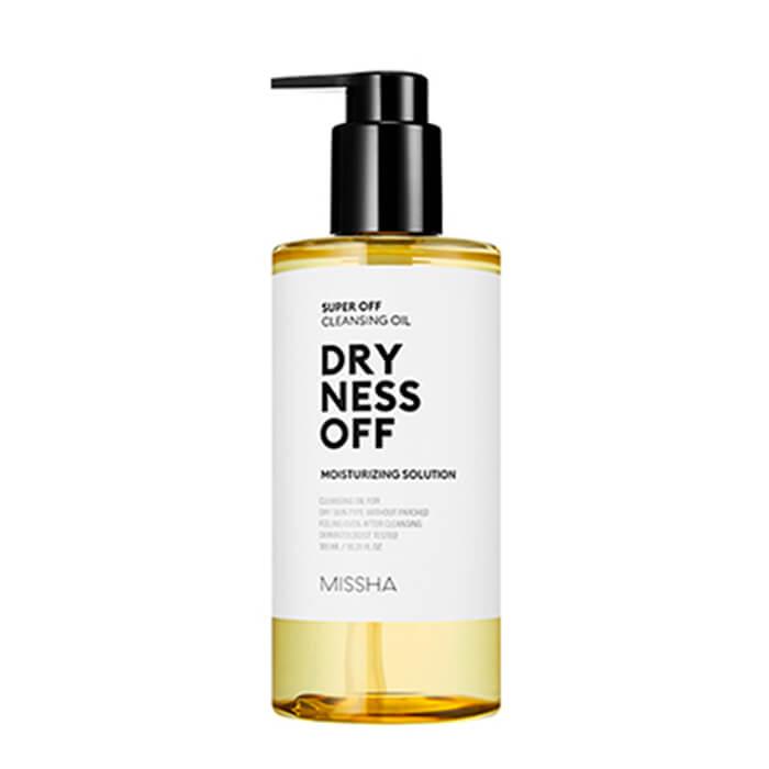 Купить Гидрофильное масло Missha Super Off Cleansing Oil - Dryness Off, Увлажняющее гидрофильное масло для очищения лица, Южная Корея