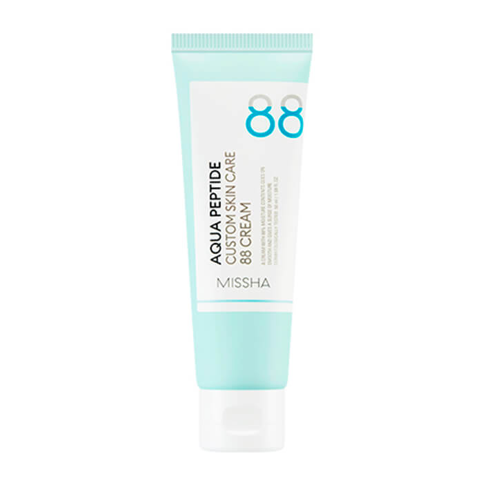 Купить Крем для лица Missha Aqua Peptide Custom Skin Care 88 Cream, Концетрированный увлажняющий крем для лица с пептидами, Южная Корея