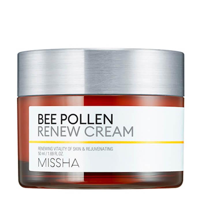 Купить Крем для лица Missha Bee Pollen Renew Cream, Восстанавливающий крем для лица с прополисом, Южная Корея