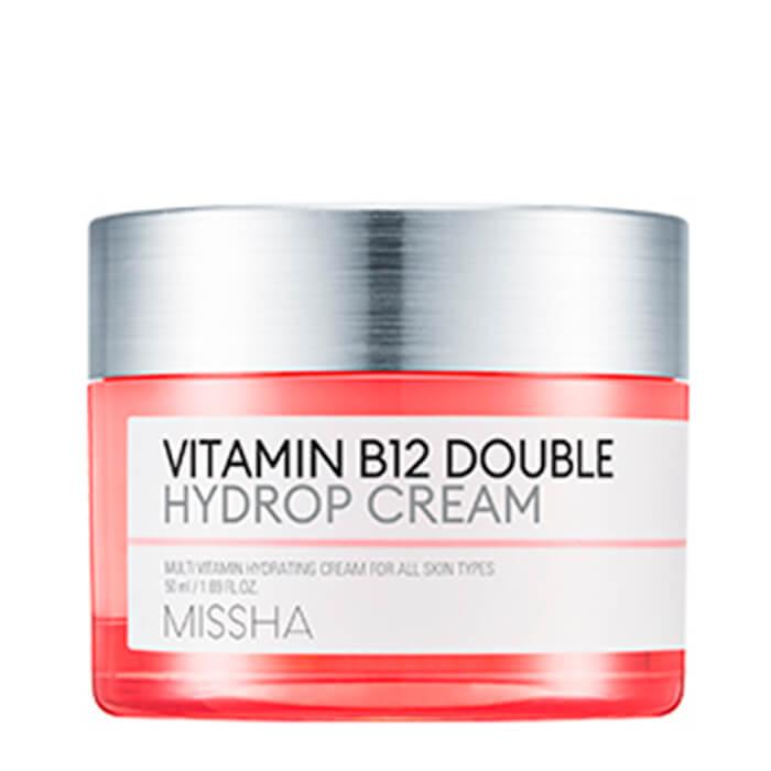 Купить Крем для лица Missha Vitamin B12 Double Hydrop Cream, Увлажняющий крем для лица с витамином В12, Южная Корея