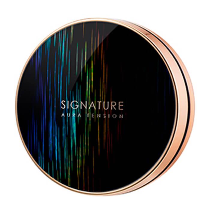 Купить Кушон для лица Missha Signature Aura Tension - Long Wear Cover, Тональный кушон для лица со стойким покрытием на весь день, Южная Корея