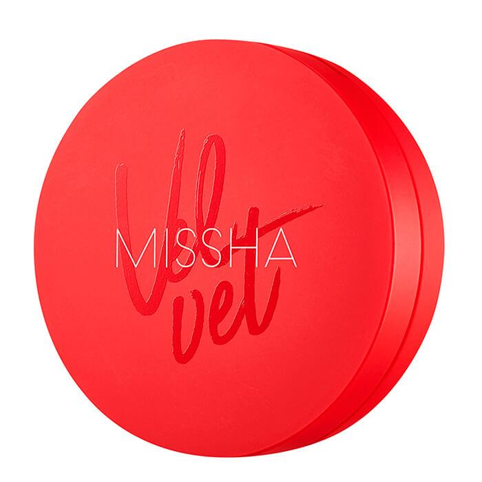 Купить Кушон для лица Missha Velvet Finish Cushion, Тональный кушон для лица с матовым финишем, Южная Корея