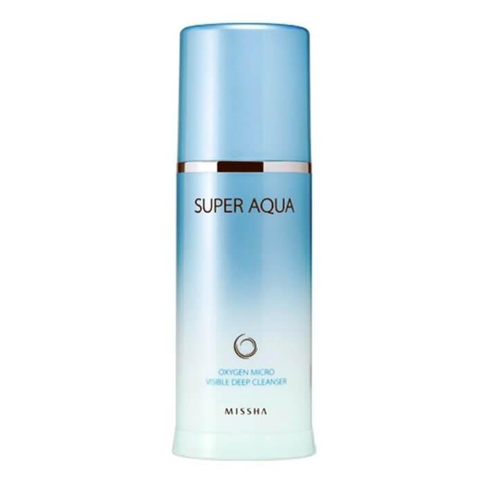 Купить Пилинг для лица Missha Super Aqua Oxygen Micro Essence Peeling, Эссенция-пилинг обогащенная кислородом для эффективного очищения кожи лица, Южная Корея