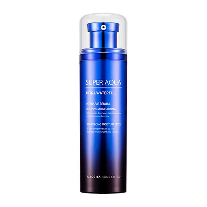 Купить Сыворотка для лица Missha Super Aqua Ultra Waterfull Intensive Serum, Интенсивная увлажняющая сыворотка для кожи лица, Южная Корея