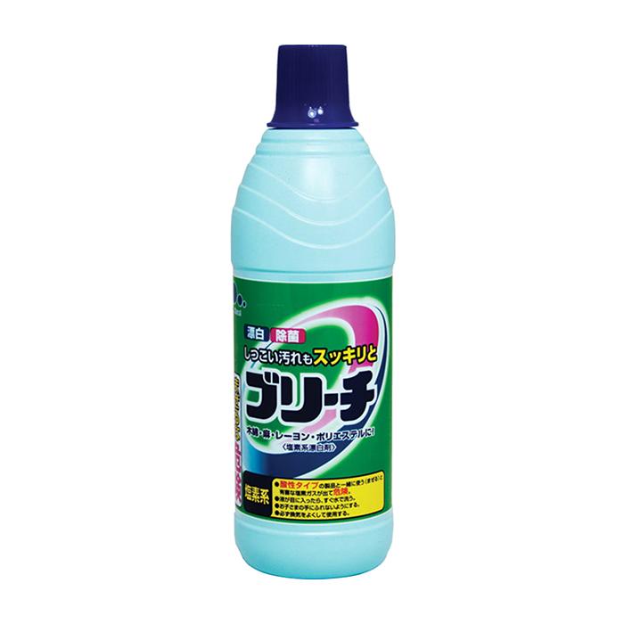 Купить Отбеливатель для белья Mitsuei (0, 6 л), Хлорный отбеливатель для возвращения тканям сверкающей белизны, Япония