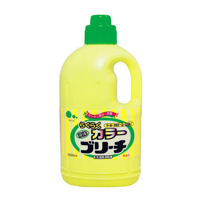 Купить Отбеливатель для белья Mitsuei Color (2 л), Кислородный отбеливатель для цветных вещей и деликатных типов ткани, Япония