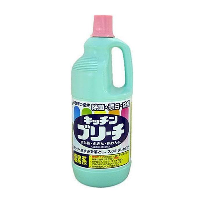 Купить Чистящее средство для кухни Mitsuei Kitchen Cleaner (1, 5 л), Универсальное кухонное моющее и отбеливающее средство с дезинфицирующим эффектом, Япония