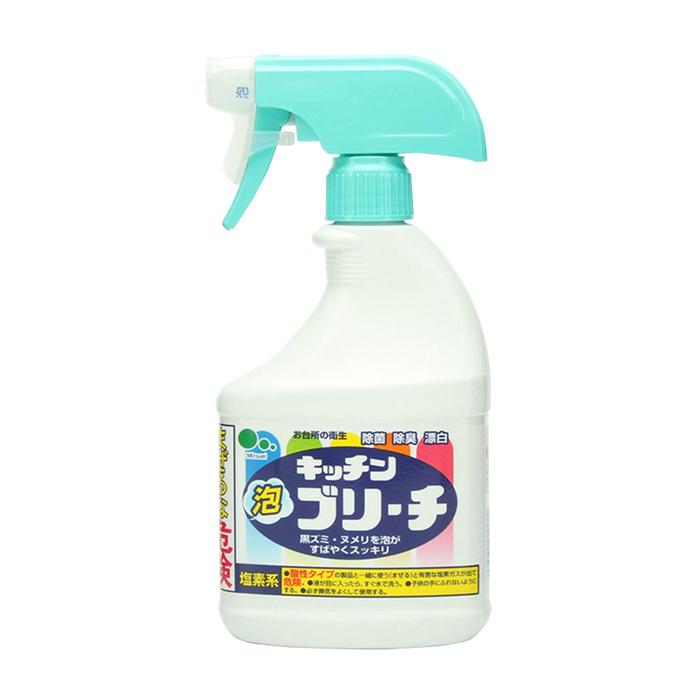 Купить Чистящее средство для кухни Mitsuei Kitchen Cleaner (0, 4 л, в спрее), Универсальное кухонное моющее и отбеливающее средство с дезинфицирующим эффектом, Япония